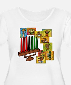 Celebrate Kwanzaa Together collage.png Plus Size T