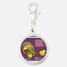 Celebrate Kwanzaa Fruit purple Charms