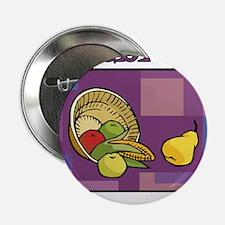 "Celebrate Kwanzaa Fruit purple 2.25"" Button"
