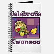 Celebrate Kwanzaa Fruit purple Journal