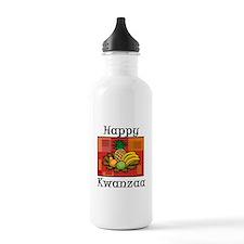 Happy Kwanzaa Fruit Pineapple Bananas.png Water Bo