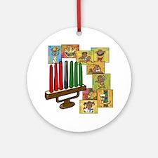 Celebration of Kwanzaa kinara & collage.png Orname