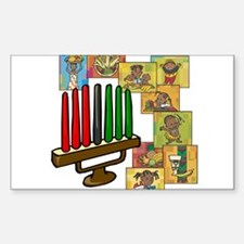 Celebration of Kwanzaa kinara & collage.png Sticke