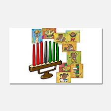 Celebration of Kwanzaa kinara & collage.png Car Ma