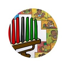 "Celebration of Kwanzaa kinara & collage.png 3.5"" B"