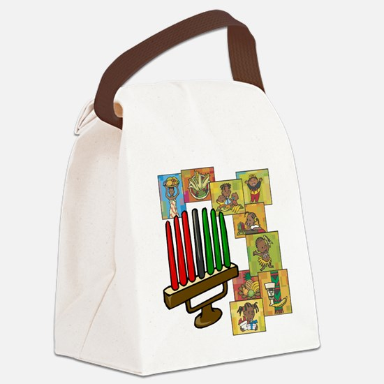 Celebration of Kwanzaa kinara & collage.png Canvas