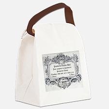 Pemberley Estate Ball Canvas Lunch Bag