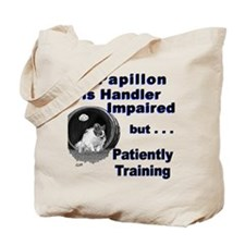 Papillon Agility Tote Bag