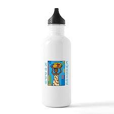 Lady Happy Kwanzaa with fruit Water Bottle
