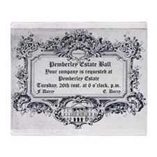 Pemberley Estate Ball Throw Blanket