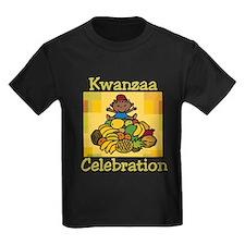 Kid & Fruit Kwanzaa Celebration.png T-Shirt