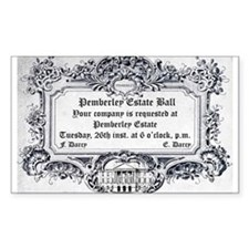 Pemberley Estate Ball Decal