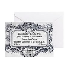 Pemberley Estate Ball Greeting Cards