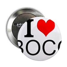 """I Love Bocci 2.25"""" Button"""