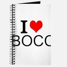 I Love Bocci Journal