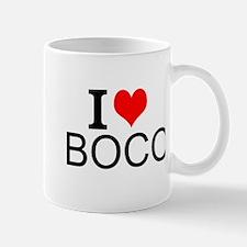 I Love Bocci Mugs