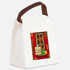 Celebrate Kwanzaa Mkeka.png Canvas Lunch Bag