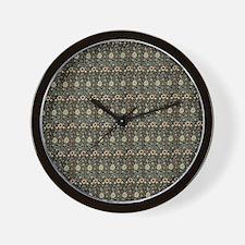 William Morris Green Evenlode Wall Clock