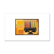 Kwanzaa Kinara simple.png Car Magnet 20 x 12