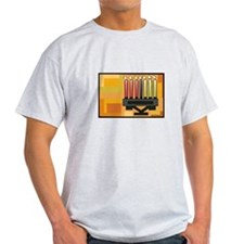 Kwanzaa Kinara simple.png T-Shirt