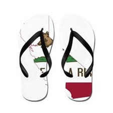 CALIFORNIA FLAG and STATE Flip Flops