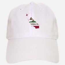 CALIFORNIA FLAG and STATE Baseball Baseball Baseball Cap