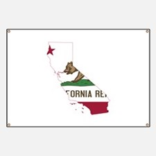 CALIFORNIA FLAG and STATE Banner