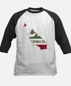 CALIFORNIA FLAG and STATE Baseball Jersey