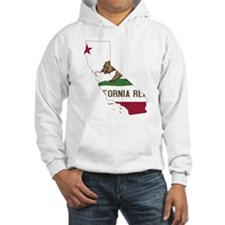CALIFORNIA FLAG and STATE Hoodie