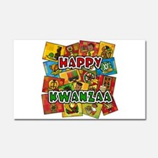 Happy Kwanzaa Collage.png Car Magnet 20 x 12