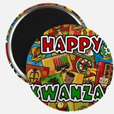 Happy Kwanzaa Collage.png Magnets