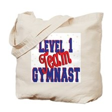 Level 1 Team Gymnast Tote Bag