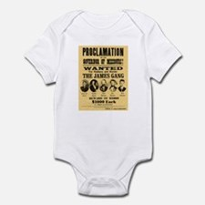 Wanted The James Gang Infant Bodysuit