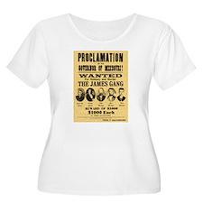 Wanted The James Gang T-Shirt