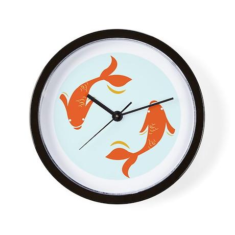 Koi fish wall clock by windmill8 for Fish wall clock