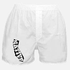 CALIFORNIA NATIVE Boxer Shorts