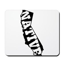 CALIFORNIA NATIVE Mousepad