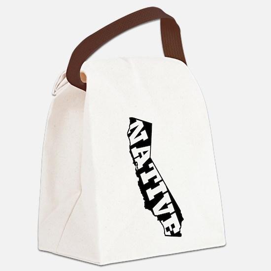 CALIFORNIA NATIVE Canvas Lunch Bag