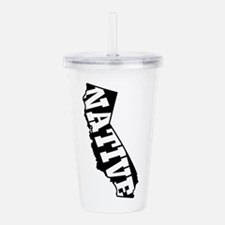 CALIFORNIA NATIVE Acrylic Double-wall Tumbler