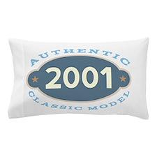 2001 Birth Year Birthday Pillow Case