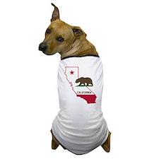 CALI STATE w BEAR Dog T-Shirt