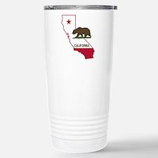 CALI STATE w BEAR Travel Mug