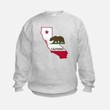 CALI STATE w BEAR Sweatshirt