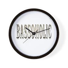 Bassoholic Wall Clock