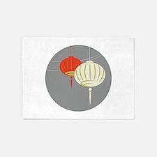 Chinese Lantern 5'x7'Area Rug