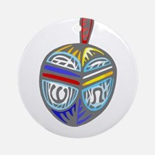 Dreidel colorful Ornament (Round)