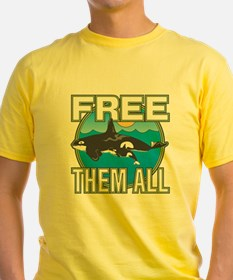 Free Them All(Whales) T