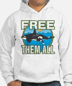 Free Them All(Whales) Hoodie