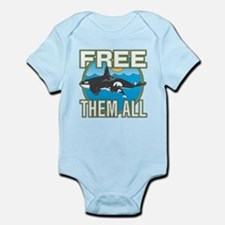 Free Them All(Whales) Infant Bodysuit