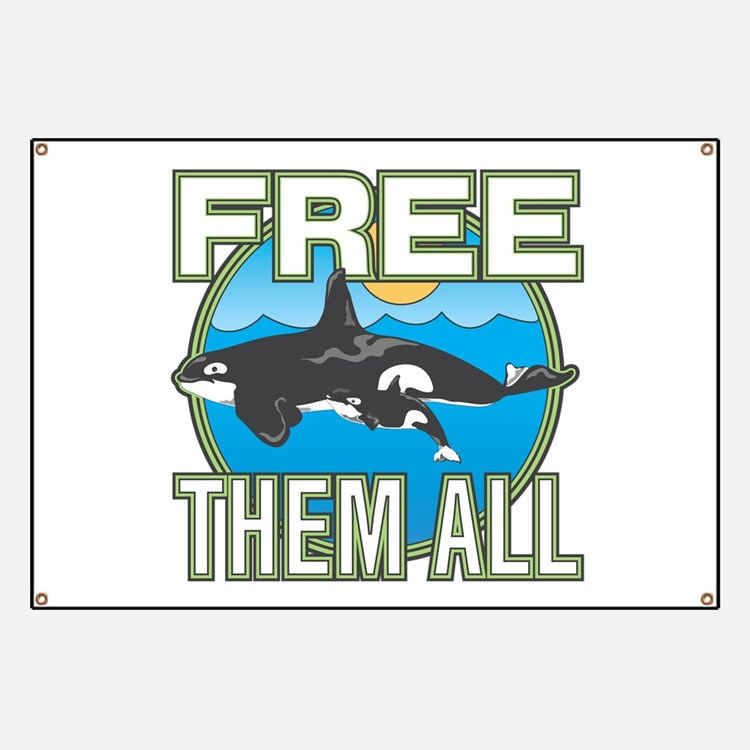 Free Them All(Whales) Banner